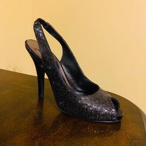 Beautiful Black Stiletto Shoes